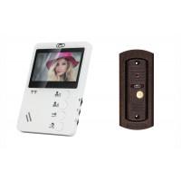Комплект видеодомофона c вызывной панелью CMD VD44-KIT