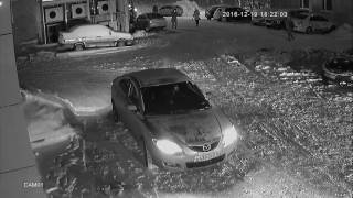 Пример видеозаписи ночью