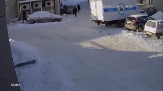 Пример видеозаписи днем