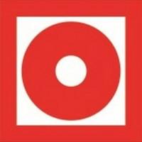Знак F10 - Кнопка включения установок (систем) пожарной автоматики